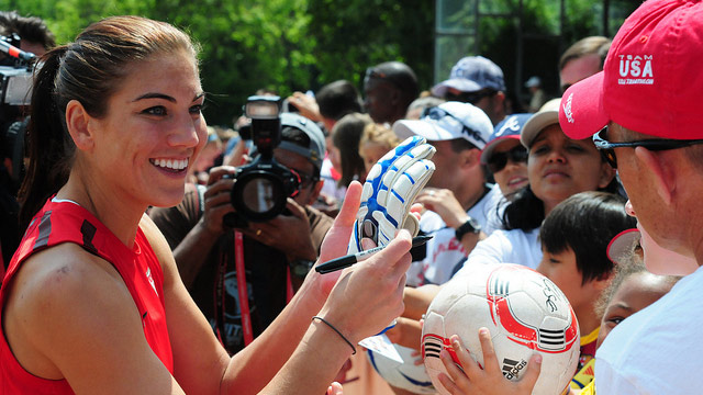 Nike Drops Deals with Rice and Peterson, Says Nothing About Hope Solo